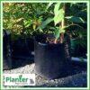 20 litre Squat Poly Planter bag plant Growbag - Planter Bag Supplies NZ - for more info go to planterbags.co.nz