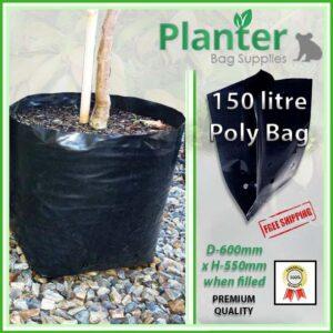 150 Litre Poly Plant Bag